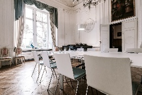 Schloss Wissen Tagungsraum Weißer Salon © Markus Luigs 2017