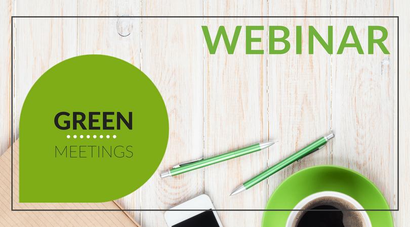 Webinar Green Meetings